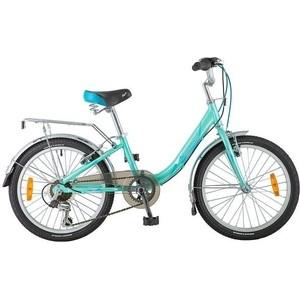 Велосипед 2-х колесный NOVATRACK 20 ANCONA зеленый 20AH6V.ANCONA.GN8 велосипед novatrack alice 20 2019