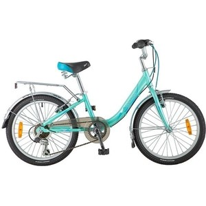Велосипед 2-х колесный NOVATRACK 20 ANCONA зеленый 20AH6V.ANCONA.GN8