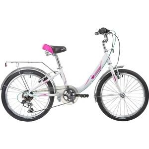 Велосипед 2-х колесный NOVATRACK 20 ANCONA белый 20AH6V.ANCONA.WT8 велосипед novatrack alice 20 2019