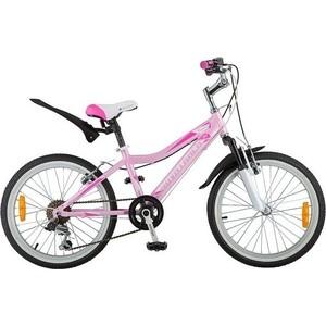Велосипед 2-х колесный NOVATRACK 20 NOVARA розовый 20AH6V.NOVARA.PN8