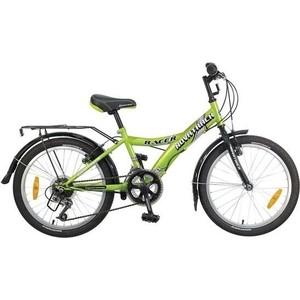 Велосипед 2-х колесный NOVATRACK 20 RACER зеленый 117080 20SH12V.RACER.GN7