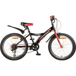 Велосипед 2-х колесный NOVATRACK 20 RACER черный 117048 20SH6V.RACER.BK7