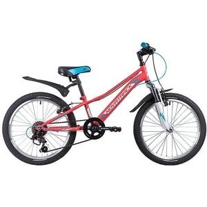 Велосипед 2-х колесный NOVATRACK 20 VALIANT коралловый 20SH6V.VALIANT.CRL9 novatrack novatrack велосипед valiant 24 рама 12 18 скоростей коралловый