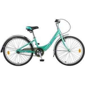 Велосипед 2-х колесный NOVATRACK 24 ANCONA 12 зеленый 24AH3V.ANCONA.12GN8