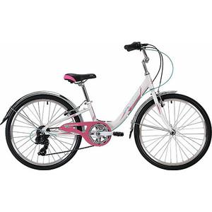 Велосипед 2-х колесный NOVATRACK 24 ANCONA 12 белый 24AH7V.ANCONA.12WT9 novatrack novatrack велосипед ancona 24 shimano nexus рама 10 3 скорости зеленый