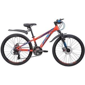 Велосипед 2-х колесный NOVATRACK 24 EXTREME 11 оранжевый 24AHD.EXTREME.11OR9