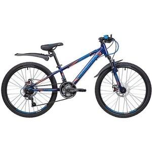 Велосипед 2-х колесный NOVATRACK 24 LUMEN 11 синий 24AHD.LUMEN.11BL9 велосипед novatrack lumen синий 24 рама 13