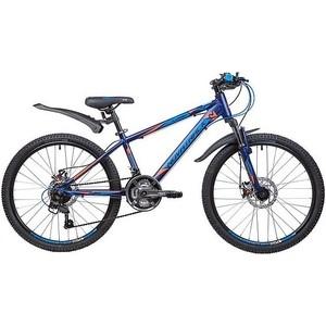 Велосипед 2-х колесный NOVATRACK 24 LUMEN 13 синий 24AHD.LUMEN.13BL9 велосипед novatrack lumen синий 24 рама 13