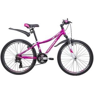 Велосипед 2-х колесный NOVATRACK 24 KATRINA 12 фиолетовый 117103 24AHV.KATRINA.12VL9 велосипед novatrack girlish line 20 2016 бело фиолетовый