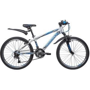 Велосипед 2-х колесный NOVATRACK 24 LUMEN 13 серебристый 24AHV.LUMEN.13SL9 велосипед novatrack lumen синий 24 рама 13
