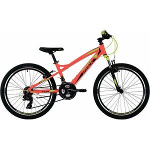 Велосипед 2-х колесный NOVATRACK 24 TORNADO 13 красный 24AHV.TORNADO.13RD9