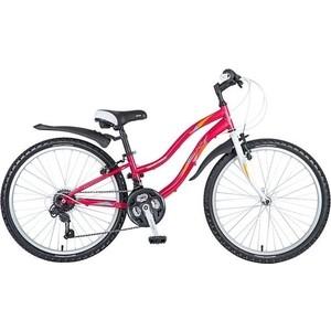 Велосипед 2-х колесный NOVATRACK 24 LADY сталь.рама 12 красный 117123 24SH18SV.LADY.12RD7 novatrack novatrack велосипед lady 24 shimano 18 скоростей красный