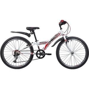 Велосипед 2-х колесный NOVATRACK 24 RACER сталь.рама 10 белый 24SH6V.RACER.10WT9 велосипед novatrack 16 зебра бордово белый 165 zebra clr6