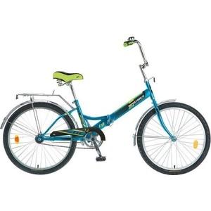 Велосипед 2-х колесный NOVATRACK 24 складной TG синий 117087 24FTG1.BL7