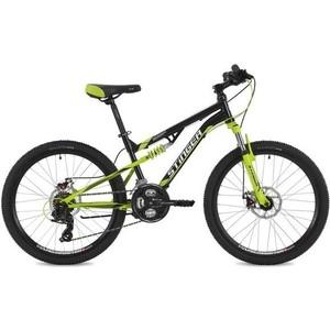 Велосипед 2-х колесный Stinger 24 Discovery D 14 черный 24SFD.DISCOD.14BK8