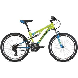 Велосипед 2-х колесный Stinger 24 Discovery 14 зеленый 24SFV.DISCO.14GN8