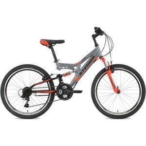 Велосипед 2-х колесный Stinger 24 Highlander 14 серый 24SFV.HILANDER.14GR8