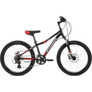 Велосипед 2-х колесный Stinger 24 Boxxer D 2.0 14 черный 24AHD.BOXXD2.14BK8 велосипед stark luna 26 1 v розово желтый 18