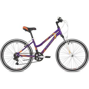 Велосипед 2-х колесный Stinger 24 Laguna 14 фиолетовый 24AHV.LAGUNA.14VT9 цена