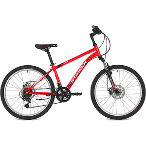 Велосипед 2-х колесный Stinger 24 Caiman D 12 красный 24SHD.CAIMAND.12RD9 цена