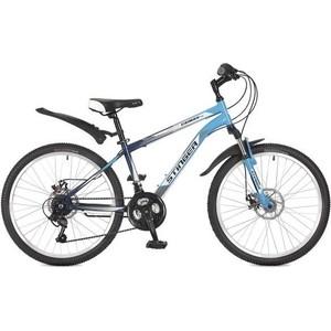 Велосипед 2-х колесный Stinger 24 Caiman D 14 синий 117364 24SHD.CAIMD.14BL7 велосипед stinger caiman 24 2018