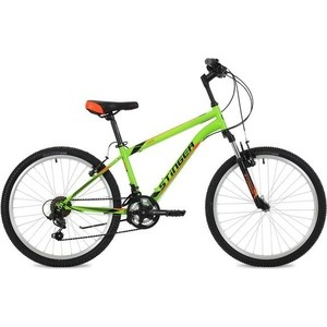 Велосипед 2-х колесный Stinger 24 Caiman 12 5 зеленый 24SHV.CAIMAN.12GN8 велосипед stinger caiman 24 2018