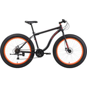 Велосипед Black One Monster 26 D черный/оранжевый 18