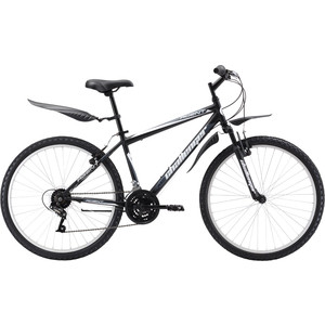 Велосипед Challenger Agent 26 черный/серый белый 18''