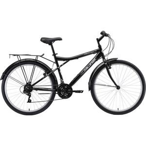 Велосипед Challenger Discovery 26 R черный/серебристый/белый 16''