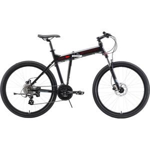 Велосипед Stark 19 Cobra 26.3 HD (2019) черный/красный/серый 18