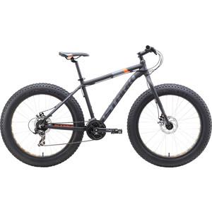 Велосипед Stark Fat 26.2 D (2019) черный/оранжевый/серый 18