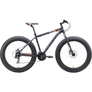 Велосипед Stark 19 Fat 26.2 D черный/оранжевый/серый 20