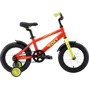 Велосипед Stark 19 Foxy 14 оранжевый/зеленый