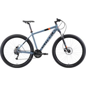 Велосипед Stark Funriser 29.4+ HD (2019) серый/оранжевый 22