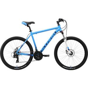 Велосипед Stark Indy 26.2 D (2019) голубой/синий/белый 20