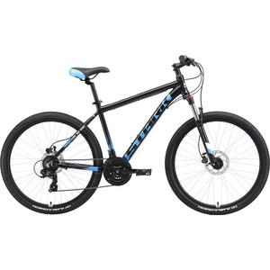 Велосипед Stark Indy 26.2 HD (2019) черный/синий/голубой 18