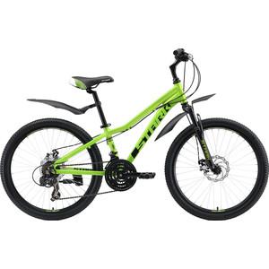 Велосипед Stark 19 Rocket 24.2 D зеленый/черный