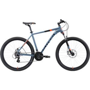 Велосипед Stark Router 27.3 D (2019) серый/черный/оранжевый 22