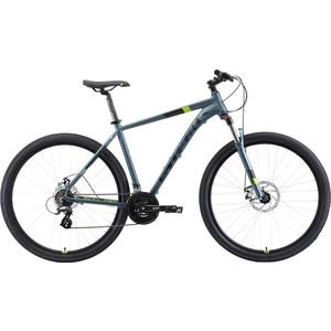 Велосипед Stark Router 29.3 D (2019) серый/черный/зеленый 20