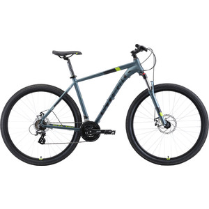 Велосипед Stark 19 Router 29.3 D серый/черный/зеленый 22