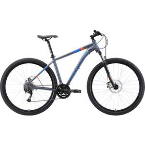 Велосипед Stark Router 29.4 D (2019) серый/голубой/оранжевый 20