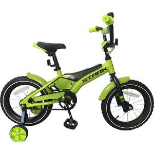 Велосипед Stark 19 Tanuki 14 Boy зеленый/черный