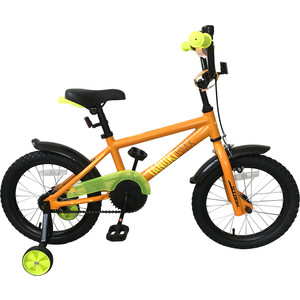Велосипед Stark 19 Tanuki 16 BMX оранжевый/желтый