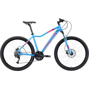 Велосипед Stark 19 Viva 27.4 HD голубой/розовый/белый 16