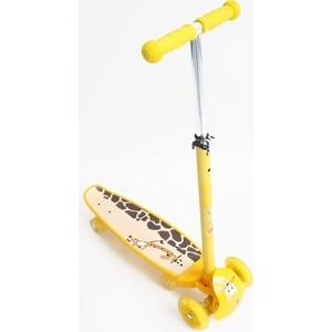 Самокат-скейт Ateox M-3 желтый (во4995-1)