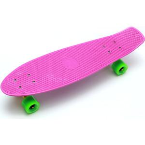 Скейтборд Triumf Active 22 TLS-402 розовый с зелеными колесами century tls a01
