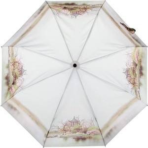 Зонт женский 3 складной Zest 23745-0122 zest zest 23742 3