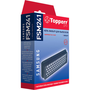 Фильтр для пылесосов Topperr 1160 FSM 241 topperr 1116 fsm 85