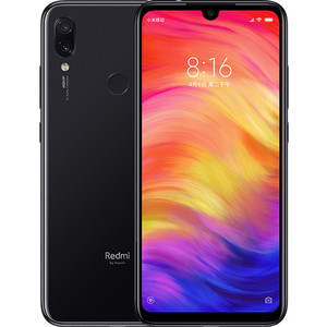 Смартфон Xiaomi Redmi Note 7 3/32Gb Black redmi note 6 pro 3 32gb pink