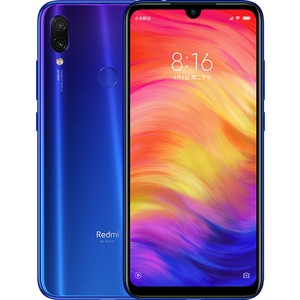 Смартфон Xiaomi Redmi Note 7 3/32Gb Blue цена и фото
